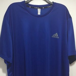 Adidas Climalite Men's Royal Blue Stay Dry Shirt